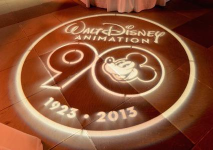 90 Years Of Disney Animation Celebration