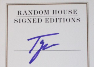 tyra banks signed autograph modelland books rare tyra banks modelland book cover rare