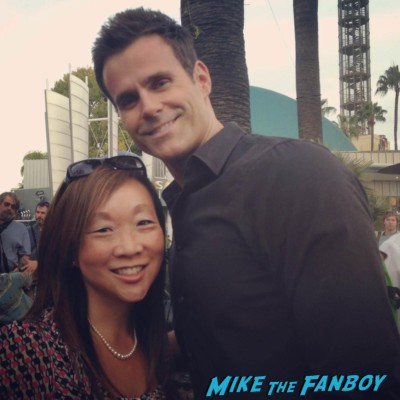 Cameron Mathison fan photo signing autographs for fans hot