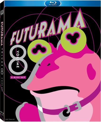 Futurama V8 BD cover art
