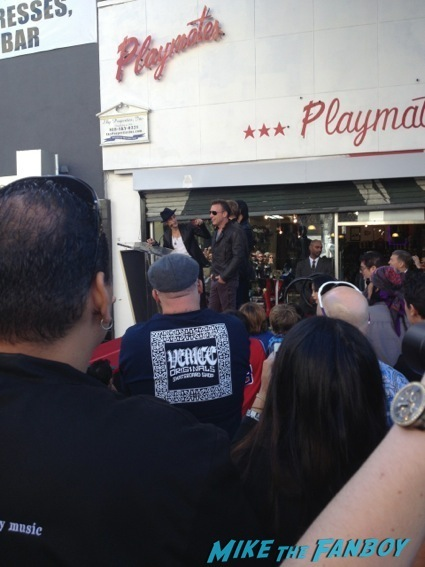 Jane's Addiction walk of fame star ceremony11