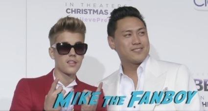 Justin Bieber's Believe LA Movie Premiere red carpet2