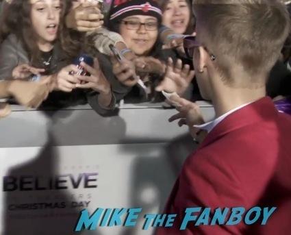 Justin Bieber's Believe LA Movie Premiere red carpet5