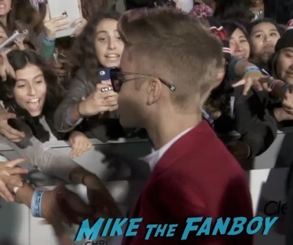 Justin Bieber's Believe LA Movie Premiere red carpet6