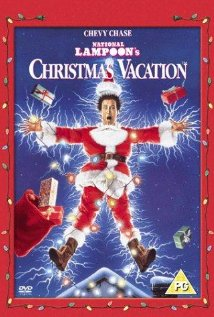 Christmas Vacation cover photo rare chevy chase poster