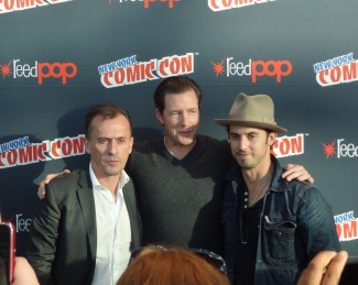 NYCC  mob city cast