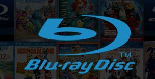 blu-ray disc logo rare