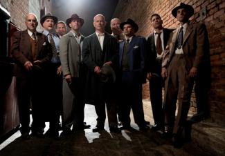 mob city full cast photo rare promo jon bernthal