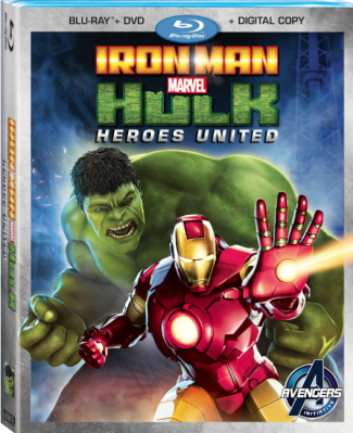 MARVEL'S IRON MAN & HULK: HEROES UNITED press still