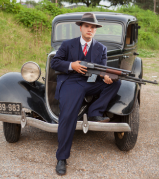 Bonnie & Clyde press promo still rare emile hirsch
