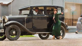 Bonnie & Clyde press promo still rare emile hirsch