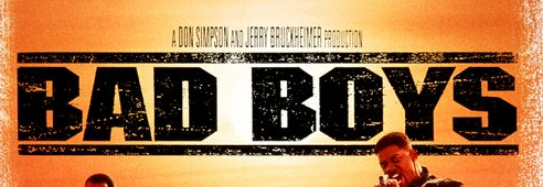 bad boys logo rare movie poster rare promo