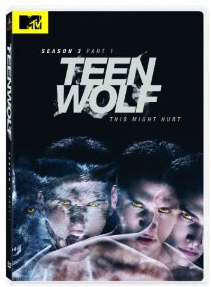 teen wolf season 3 part 1 dvd cover tyler posey