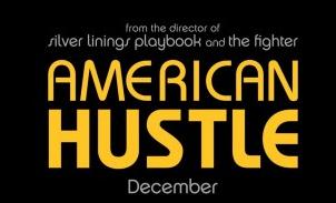 american hustle logo movie poster rare promo hot