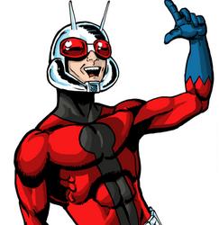 ant man cartoon movie poster logo rare