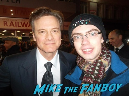 colin firth signing autographs The Railway Man UK Movie Premiere Colin Firth signing autographs4