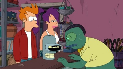 futurama volume 8 promo press still rare fry bender rare