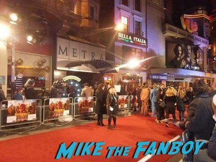 will ferrell  signing autographs anchorman 2 uk movie premiere will ferrell signing autographs4