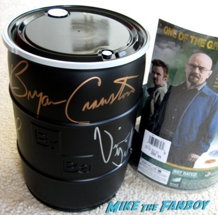 breaking bad complete series autograph signing barnes and noble LA24