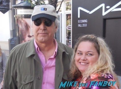chevy chase fan photo signing autographs christmas vacation cast fan photo signing autogaphs promo photo2