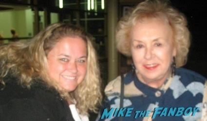 Doris Roberts fan photo signing autographs christmas vacation cast fan photo signing autogaphs promo photo2