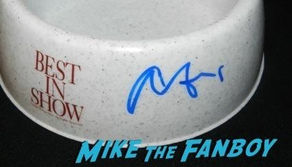 best in show promo dog bowl signed autograph christopher guest signing autographs spinal tap rare catherin o'hara5