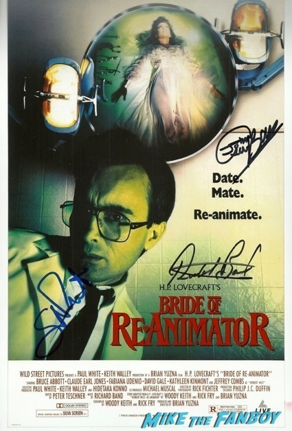 day of the dead cast autograph signing george romero13