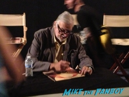 day of the dead cast autograph signing george romero18