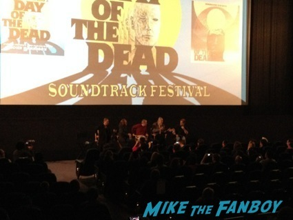 day of the dead cast autograph signing george romero21