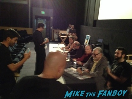 day of the dead cast autograph signing george romero26