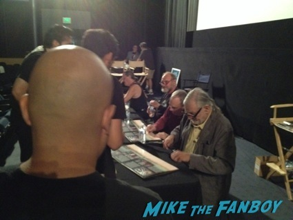day of the dead cast autograph signing george romero27