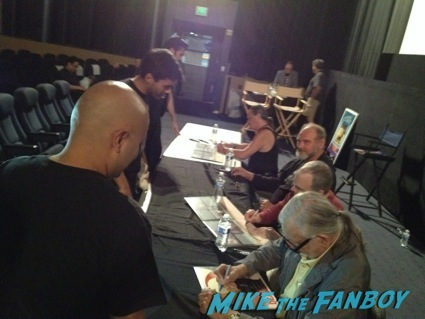 day of the dead cast autograph signing george romero28