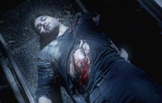 tyler hoechlin rare shirtless bloody dead Derrick season 3 teen wolf