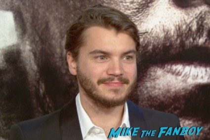 Emile Hirsch at the lone survivor ny world premiere red carpet mark wahlberg (1)