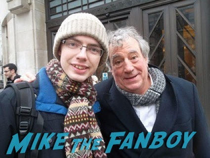 Terry Jones signing autographs bbc signing3