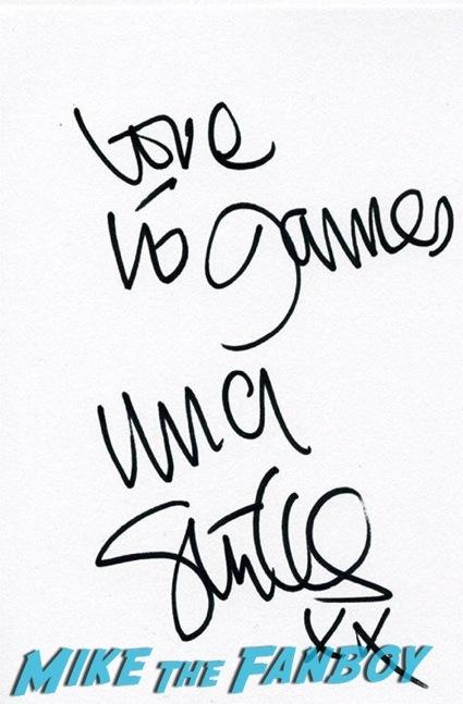 Terry Jones signing autographs bbc signing3