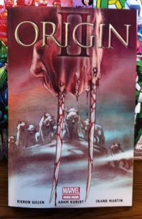 marvel origin 2 comic book cover rare promo