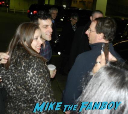 BJ Novak  signing autographs saving Mr. Banks q and a colin farrell emma thompson signing autographs 11