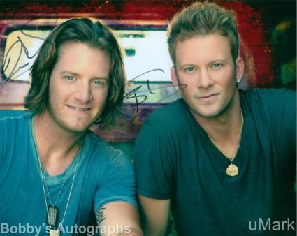 tn_Florida-Georgia-Line signed autograph rare hot sexy country duo