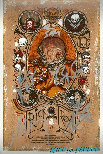 trick r treat signed autograph poster q ana a bryan singer10