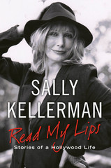 Sally Kellerman signed red my lips book rare promo