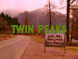 Twin Peaks opening shot credits