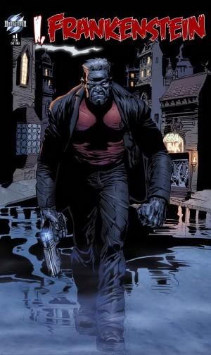 I Frankenstein comic book cover rare