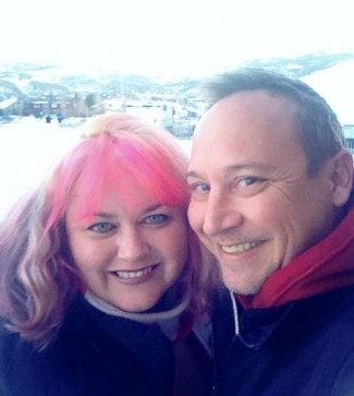pinky and keith coogan at sundance 2014