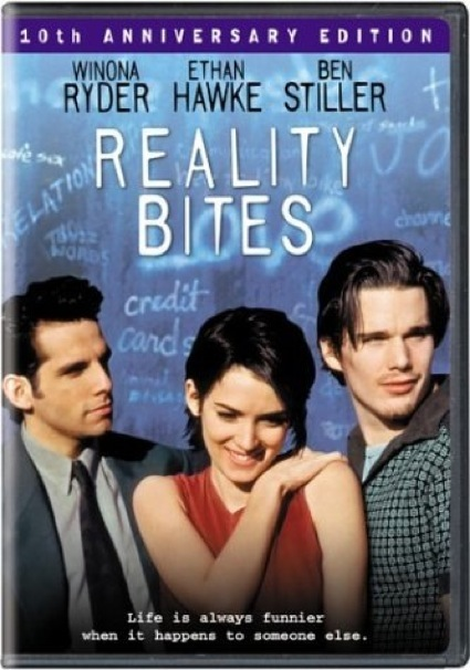 reality bites dvd cover