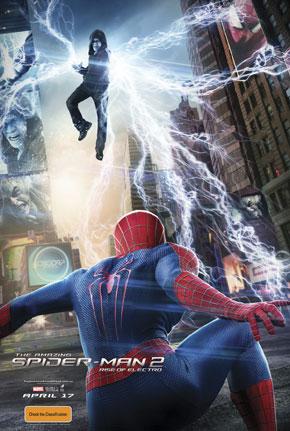 The Amazing Spider Man 2 movie poster australia international rare