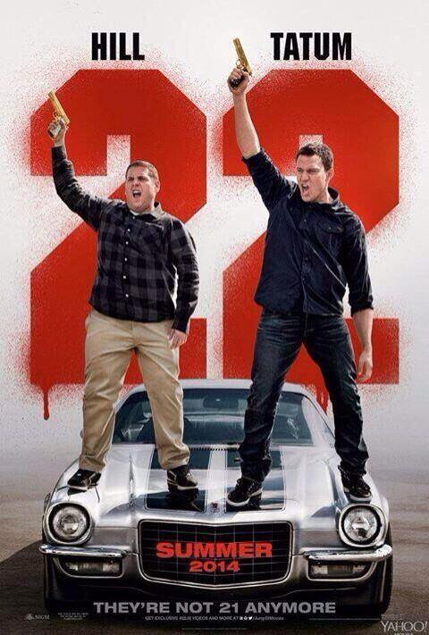 22 jumpstreet movie poster teaser