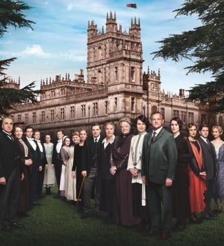 downton abbey cast photo 2