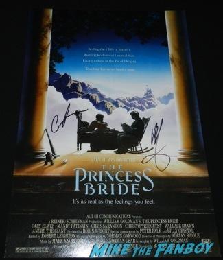 princess bride signed poster Celebrities Signing Autographs 2014 sag awards101