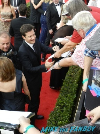 jason bateman Celebrities Signing Autographs 2014 sag awards47